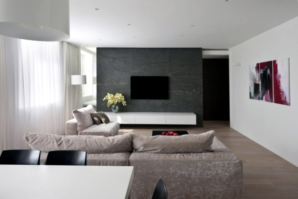 Is Black A Neutral Color neutral colors feature a modern apartment in moscow | interior