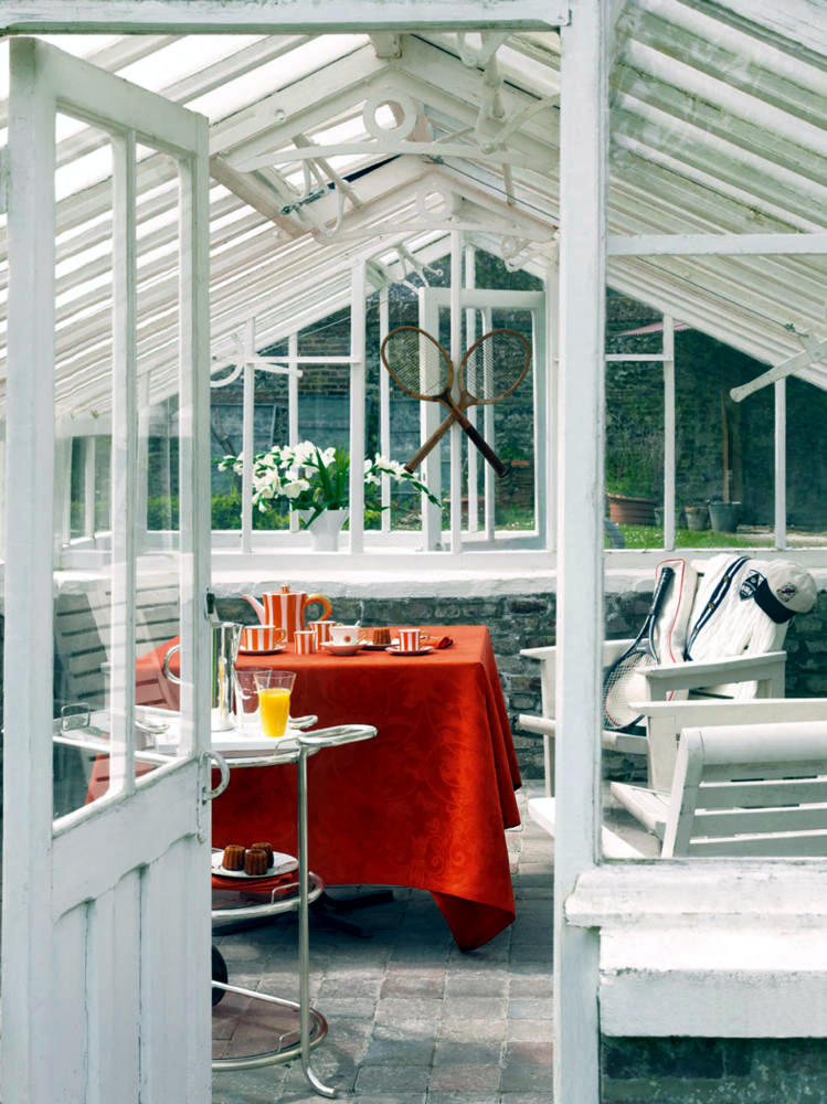 Greenhouse Conservatory Converted Interior Design Ideas