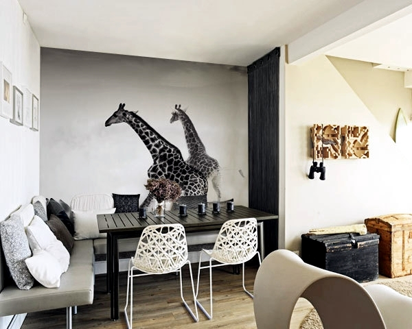Great Ideas for photo background design and decoration of the wall person