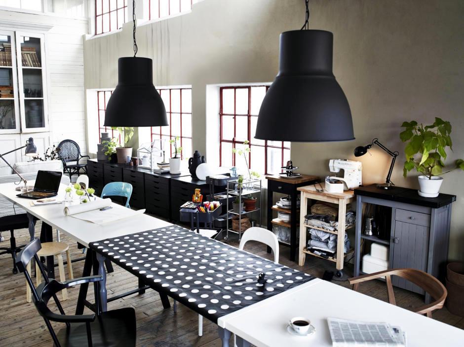 Matte Black Pendant Lights Interior