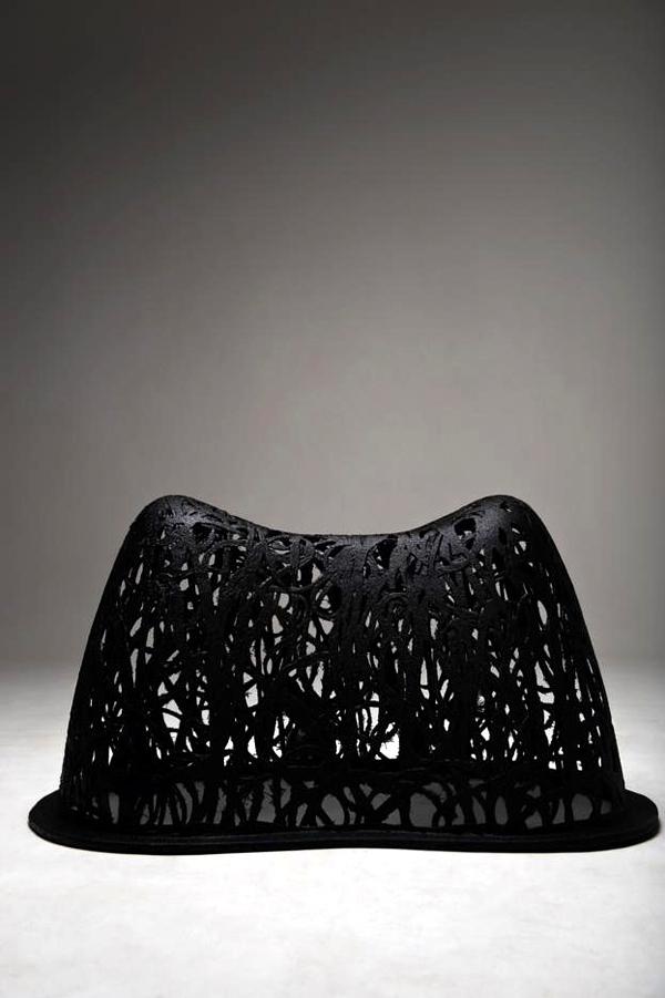 Unique Furniture Design volcanic basalt