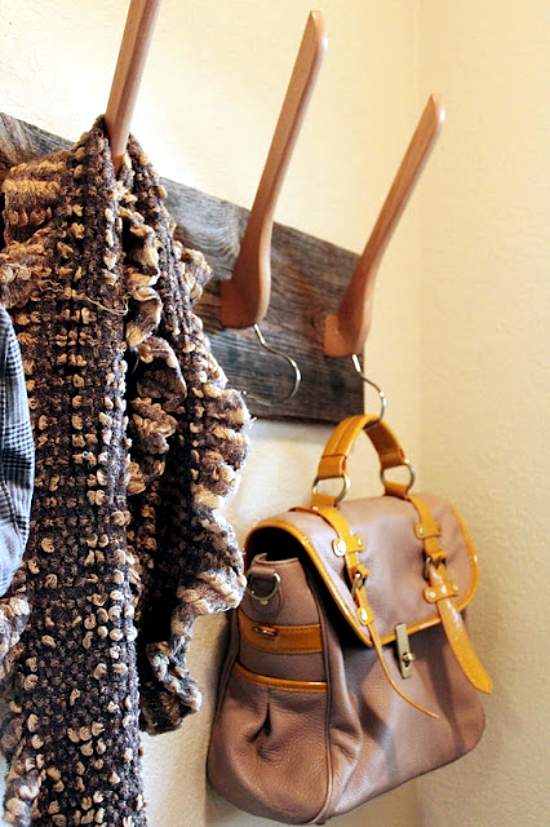 15 Creative Ideas for DIY Upcycling hooks