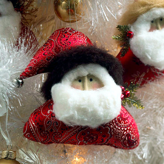 Luxury decoration Father Christmas brings joy to children