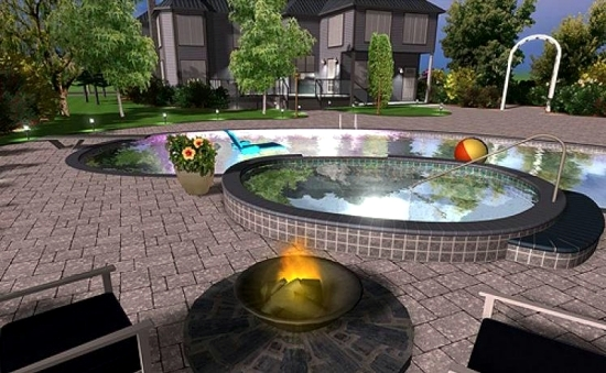 Free garden planner using 3d design interior design for Garden design 3d online
