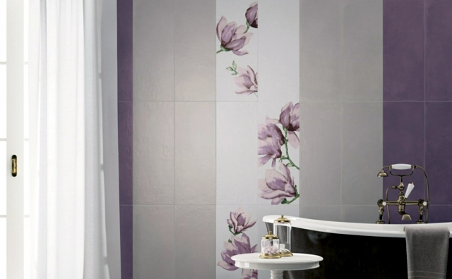 Luxury Most Bathrooms Are Clad With Tiles Because Tiles Are Very Functional, Durable, Easy To Wash And Maintain And They Look Cool Forget Boring Usual Tiles, Todays Design Industry Offer  Tiles With Various Patterns Floral, Fauna And Various