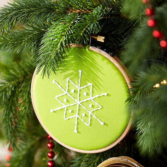 DIY Paper Christmas Ornament Tutorial Snowflake