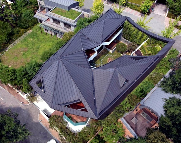 Modern Architecture Roof modren modern architecture roof with aluminium architectural