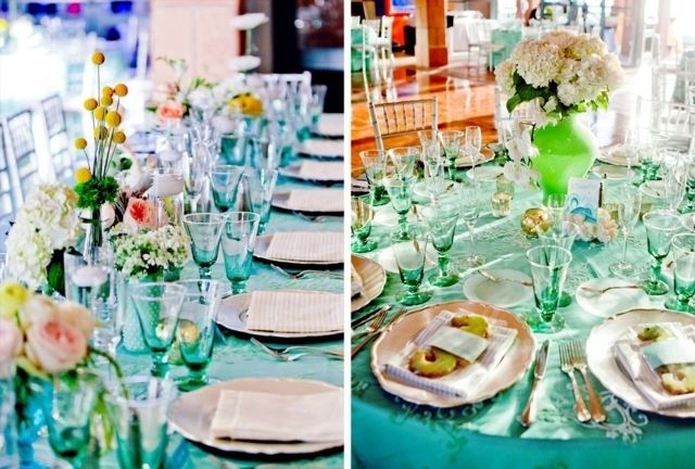 70 ideas for decorating wedding – pure romance to the table ...