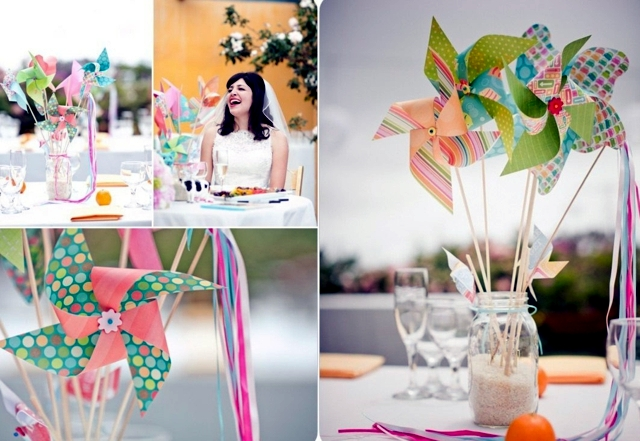 70 ideas for decorating wedding - pure romance to the table!