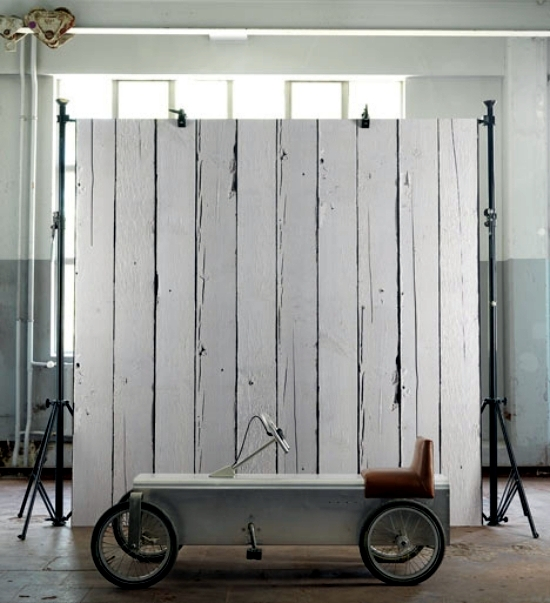 Wallpaper design - a great idea for the wall design of Piet Hein Eek