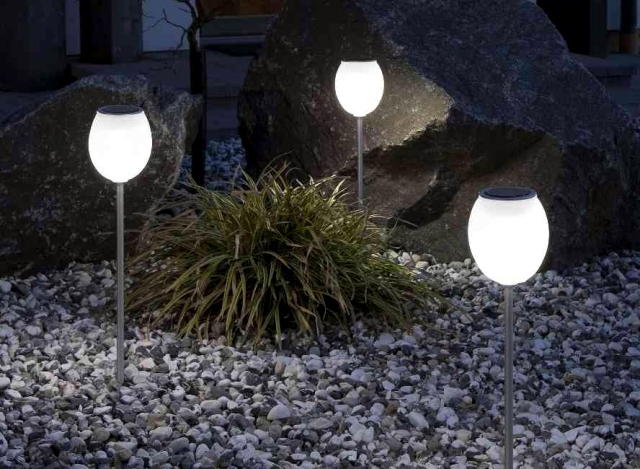 Solar Garden Lights Paths And Beautiful Night Light