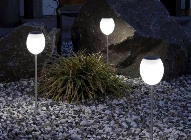 Solar Garden Lights Paths And Beautiful