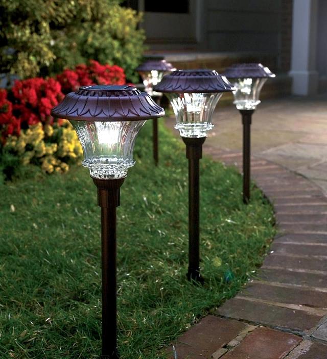 Solar Light Garden Decor Home Design And Decorating U2013 Solar Garden  Decorative Lights