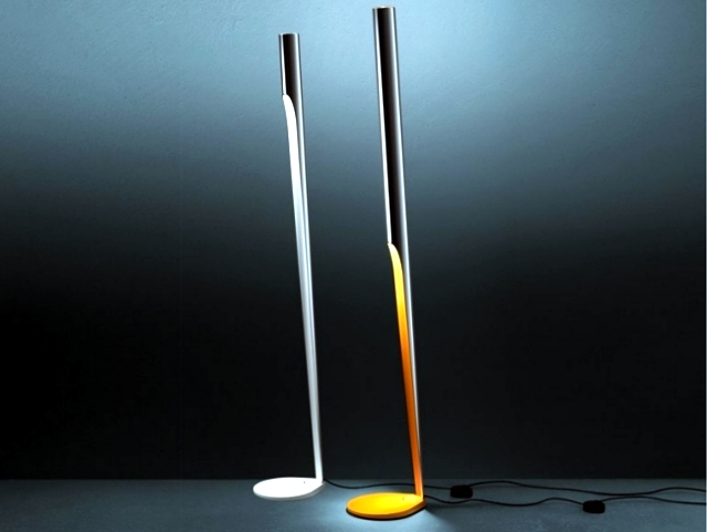 33 ideas for designing floor lamp gives a soft light in the room