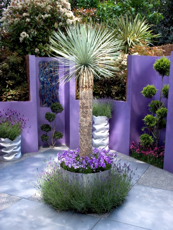 Make and decorate colorful garden - 15 Creative Ideas