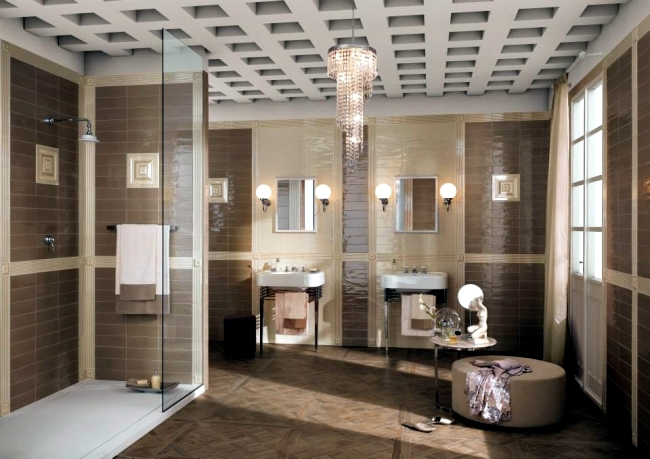 30 Badgestaltungsideen with modern tiles FAP Ceramiche