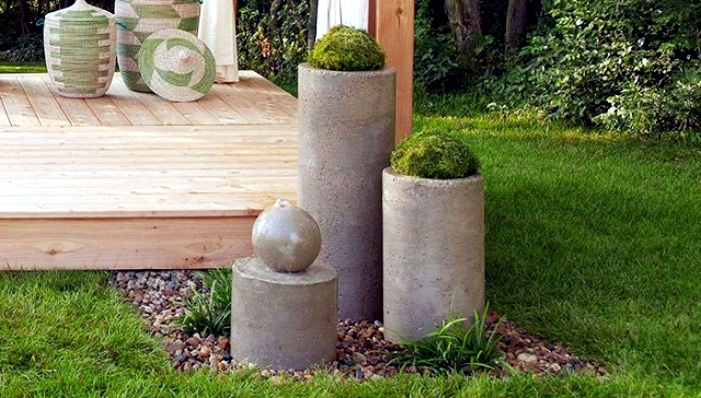 Sources and accumulation of water in the garden itself - 20 images and ideas