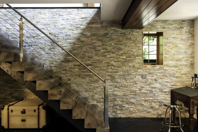 88 Ideas For Wall Design With Wood Stone Wallpaper And