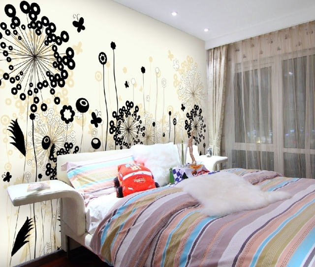 88 ideas for wall design with wood, stone, wallpaper and ...