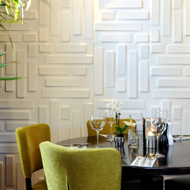 88 ideas for the design of the wall of wood, stone, wallpaper and more