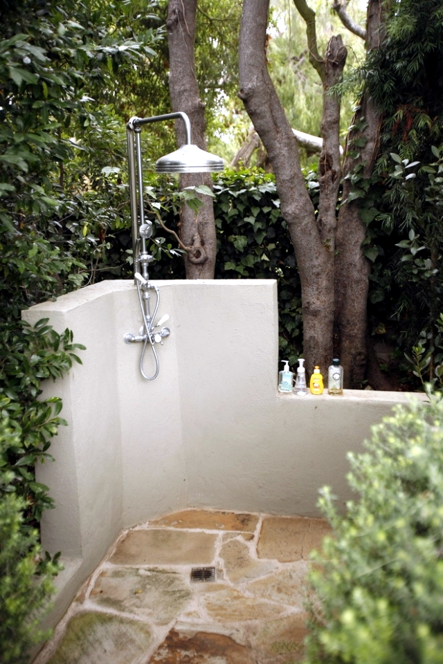 31 Ideas For Garden Shower What Material Is Best