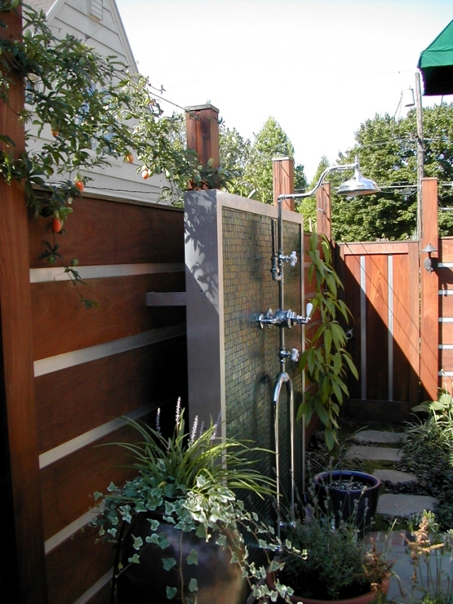 31 ideas for garden shower What material is best Interior