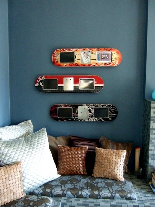 Ideas For Upcycled Furniture Design Skateboard Parts