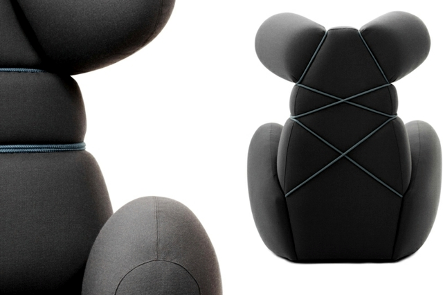 Designer inspired popular plush chair