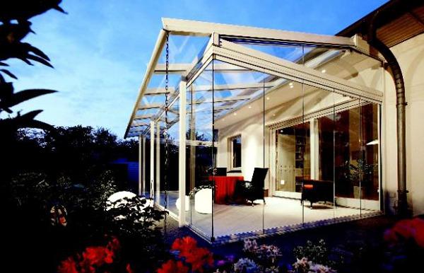 Ideas for glazed patio - 20 inspiring terraces window