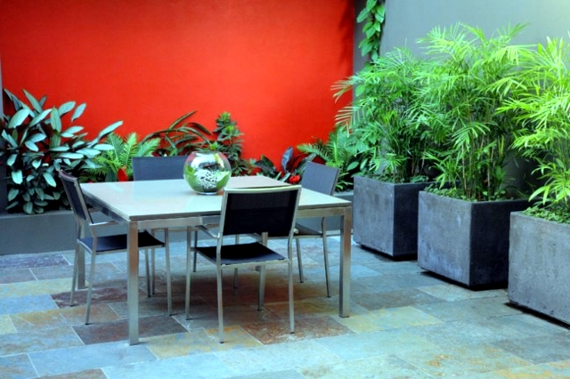 Patio Design - Tips for greening, blinds and flooring