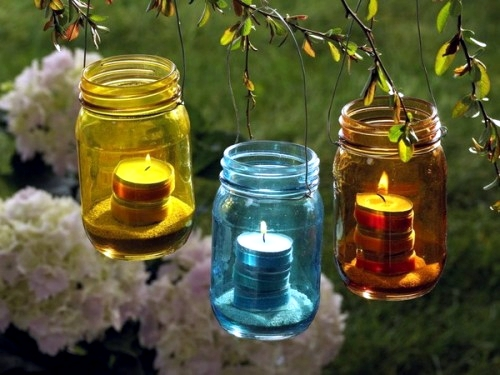 20 creative ideas for art decoration with lantern in the garden to make your own