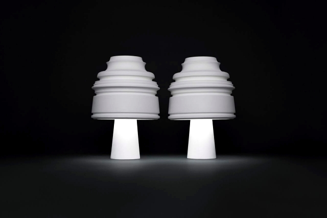 "Classic design lamp ""Bourgie"" Kartell redesigned in many ways"