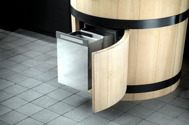 kitchen design country style sink, hob and oven combine
