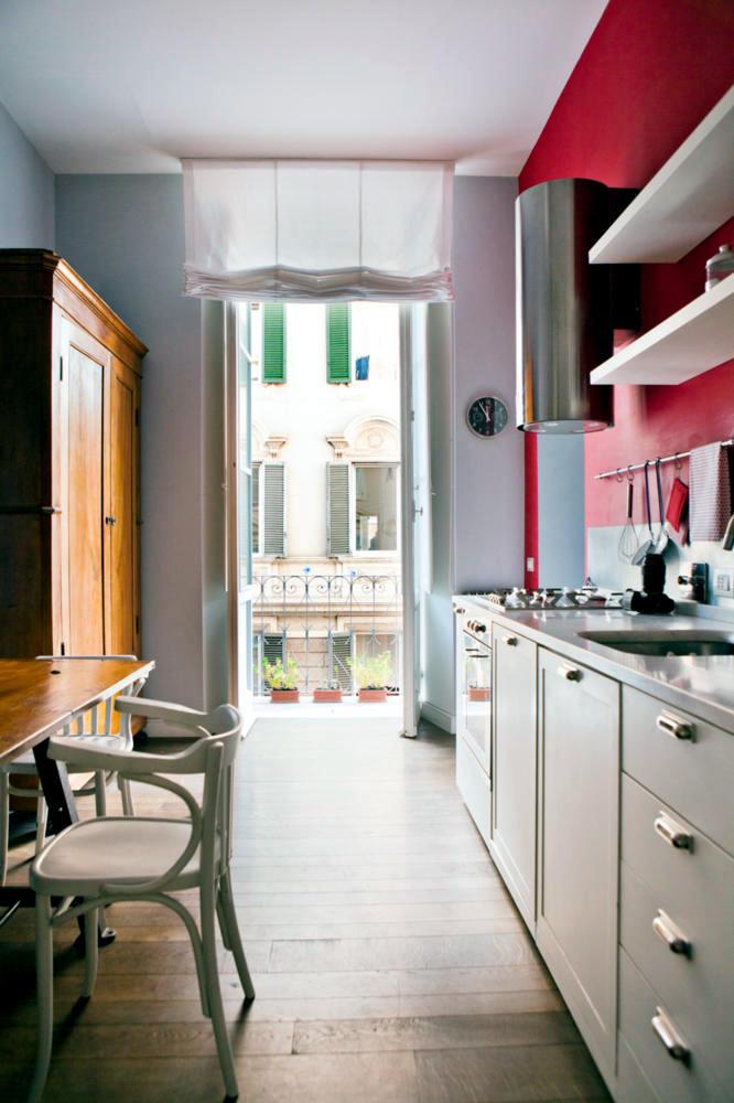Cozy Kitchen With Warm Colors Interior Design Ideas