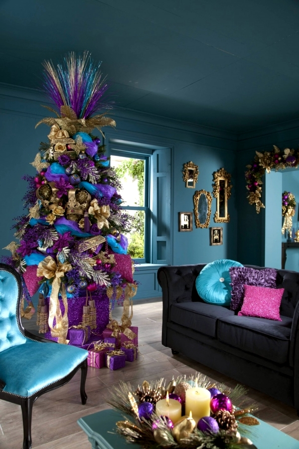 the bright and beautiful colors for multicolor christmas decorations - Colorful Christmas Decorations