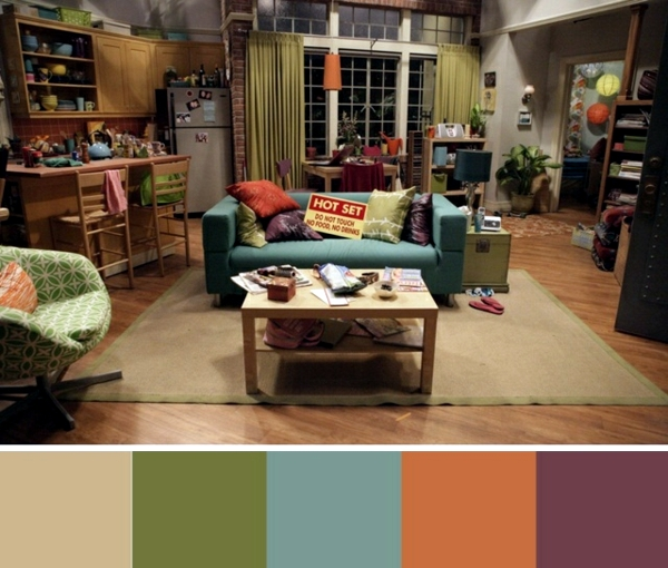 Landscaping Ideas Big Bang Theory-colors, furniture and accessories and