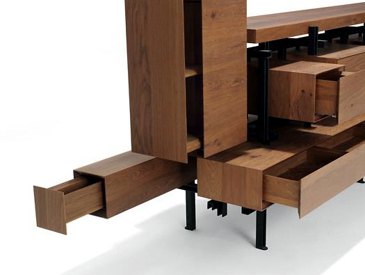 Limited edition designer wooden comfortable - Montigny by Roderick Vos