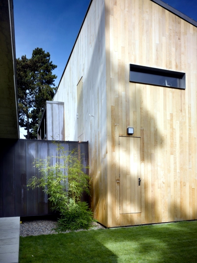 Design of the family home - the proximity to nature provides peace