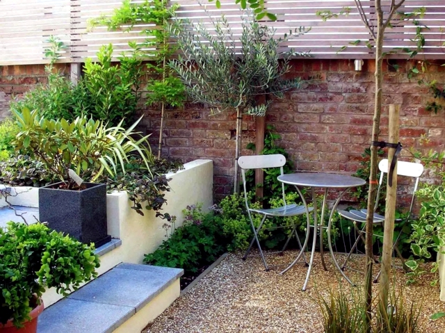 The design of the patio - 20 ideas for small urban oasis