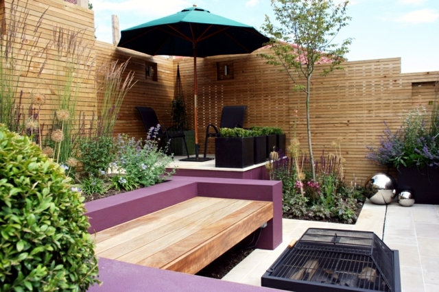 The Design Of The Patio 20 Ideas For Small Urban Oasis