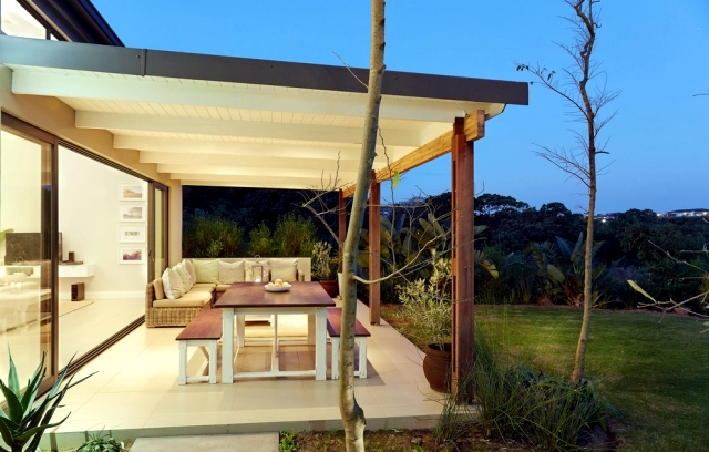 Canopy Construction - 23 solutions of wood, aluminum, steel and glass