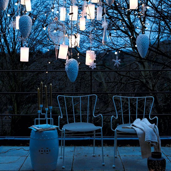 Decorating Ideas for garden lighting - ambient atmosphere