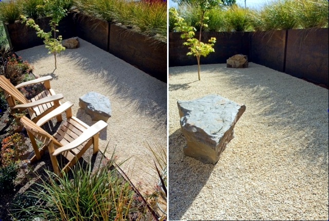Creative ideas on how to use the sand on garden design