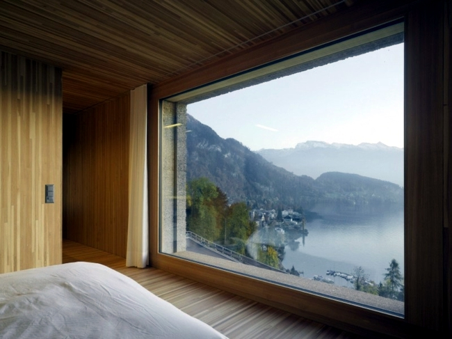 Cubic House in Switzerland with panoramic views