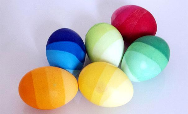 Dye Easter Eggs - 20 great ideas for decorating Easter remarkable