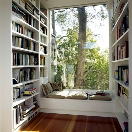 Comfortable Window Seat Set Light Reading Corner