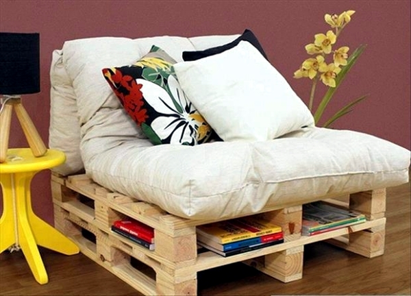 21 practical ideas for self-cabinet built from wooden pallets