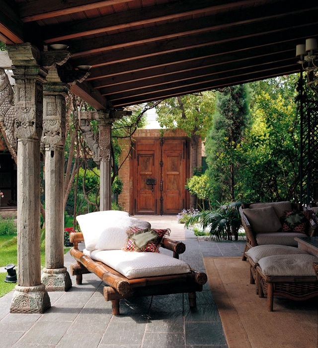 Exterior Living Room Furniture - How to convert a room Außenberech