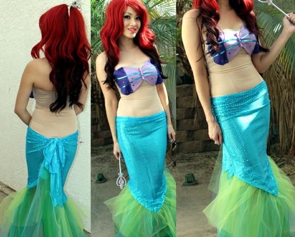 little mermaid costume - 933×750