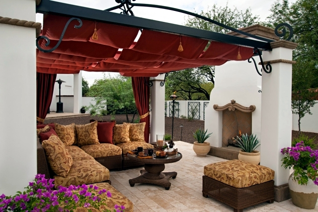 Rattan furniture for garden and terrace create a comfortable oasis Wellness